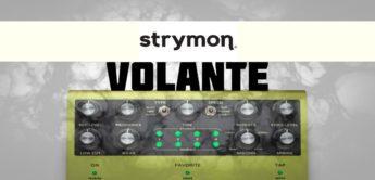 Test: Strymon Volante Magnetic Echo, Effektgerät