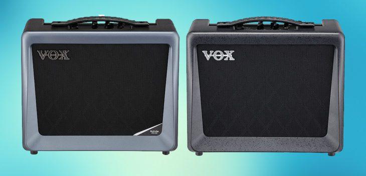 VOX VX 50GTV und VX 15GT