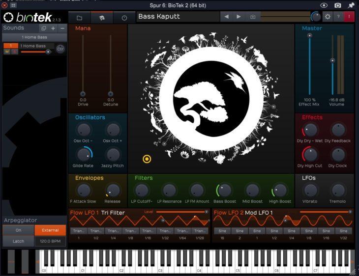 Bio Tek 2 - einer der guten Synthies der Waveform