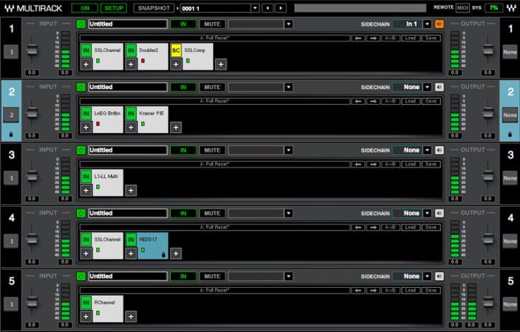 Waves SoundGrid - MultiRack