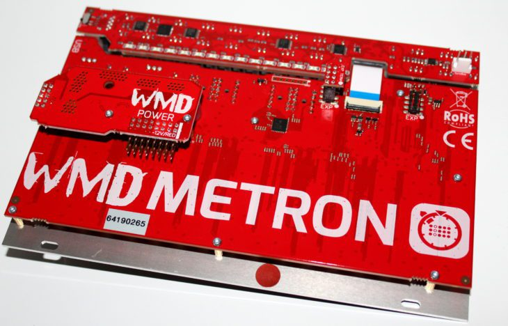WMD METRON TRIGGER GATE SEQUENCER AMAZONA TEST USERBILD MODUL RÜCKSEITE