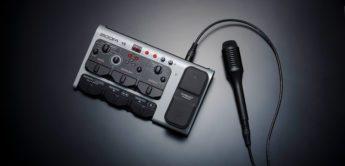 Zoom präsentiert den neuen V6 Multieffekt-Vocal-Prozessor