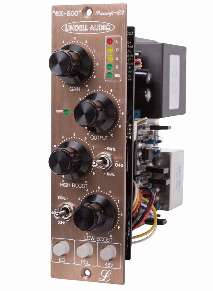 Lindell Audio 503 Power, 6X-500 Preamp