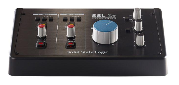 SSL 2+ Front low