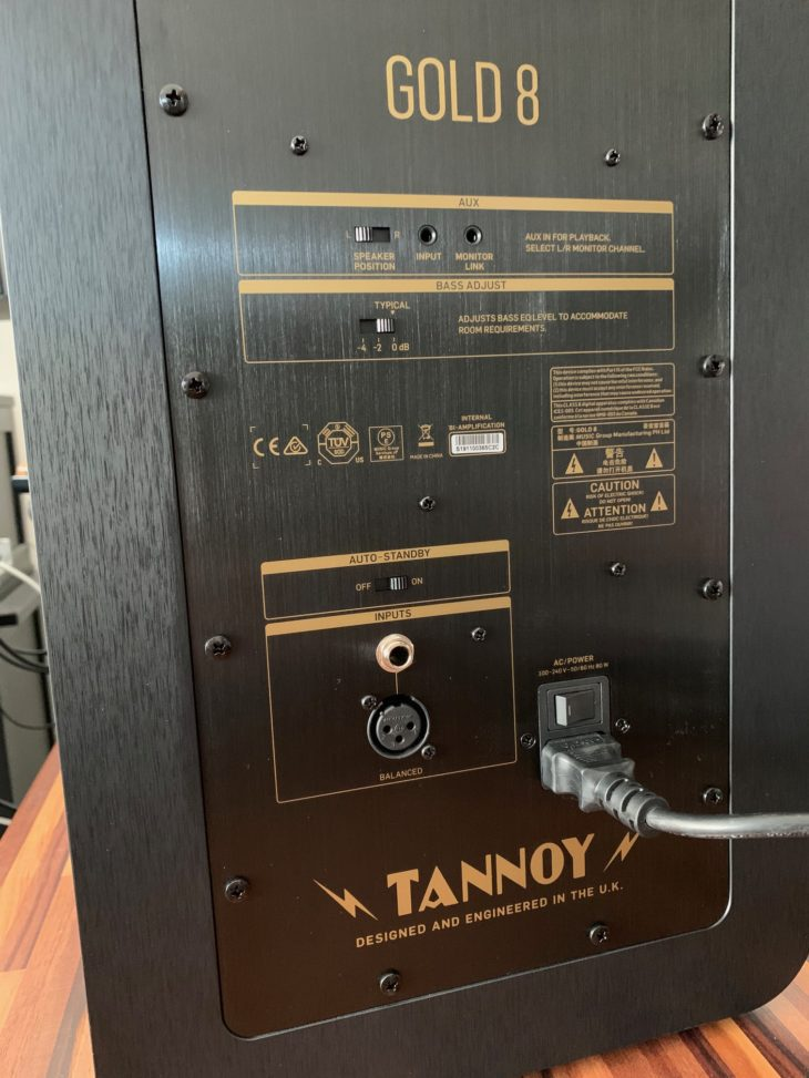 Tannoy_GOLD-8_Rear