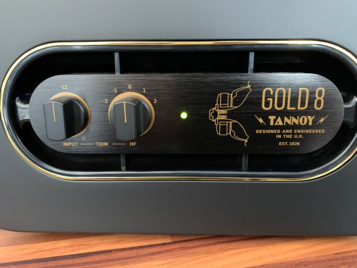 Tannoy_GOLD-8_Front_Plate
