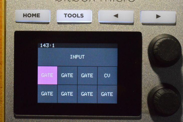 1010music BitBox Micro - Eingangskonfiguration