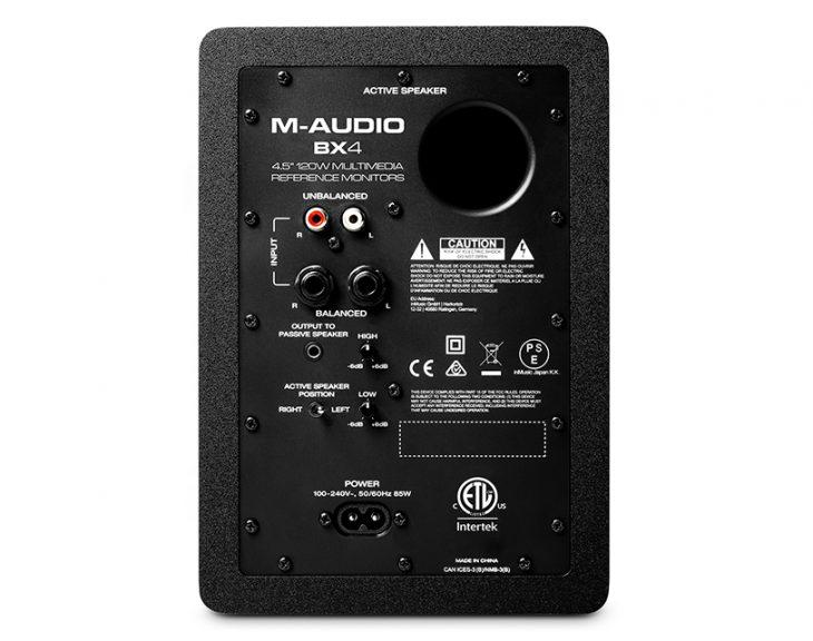 M-Audio_BX3_4_rear
