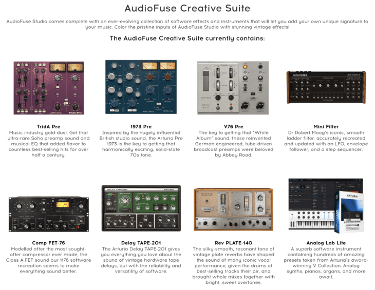 Arturia_AudioFUse_Studio_Software