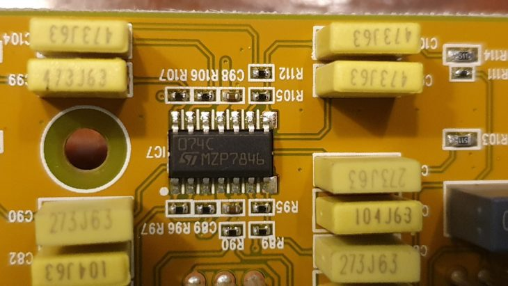 Behringer 914 Fixed Filter Bank