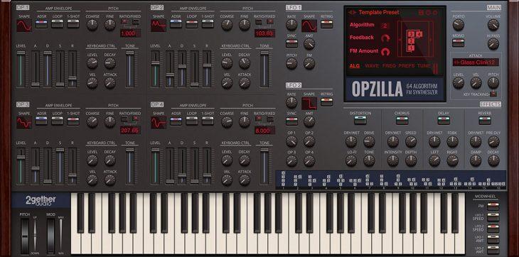 2getheraudio opzilla fm synthesizer plugin