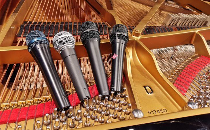 Workshop: Kompaktes Wissen über Gesangsmikrofone
