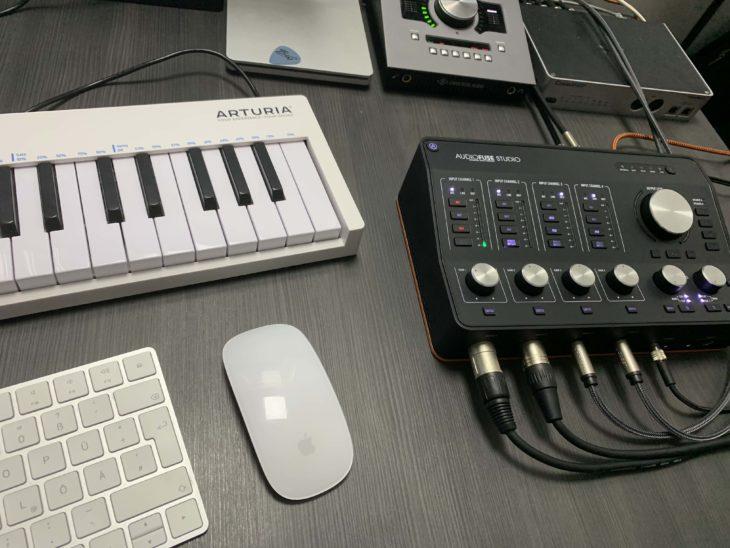 Arturia_AudioFUse_Studio_Tastatur