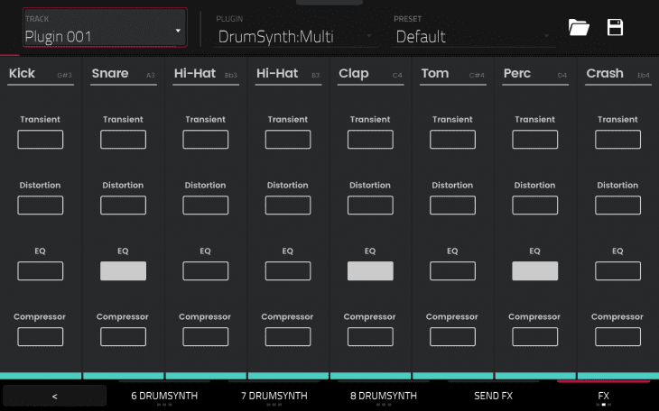 akai drumsynth mpc force