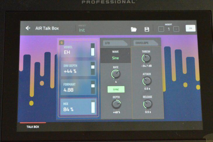 AKAI MPC LIVE II - Talk Box Effekt