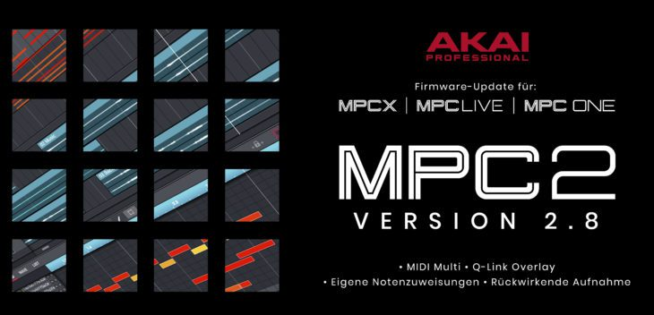 akai mpc one live x update 2-8