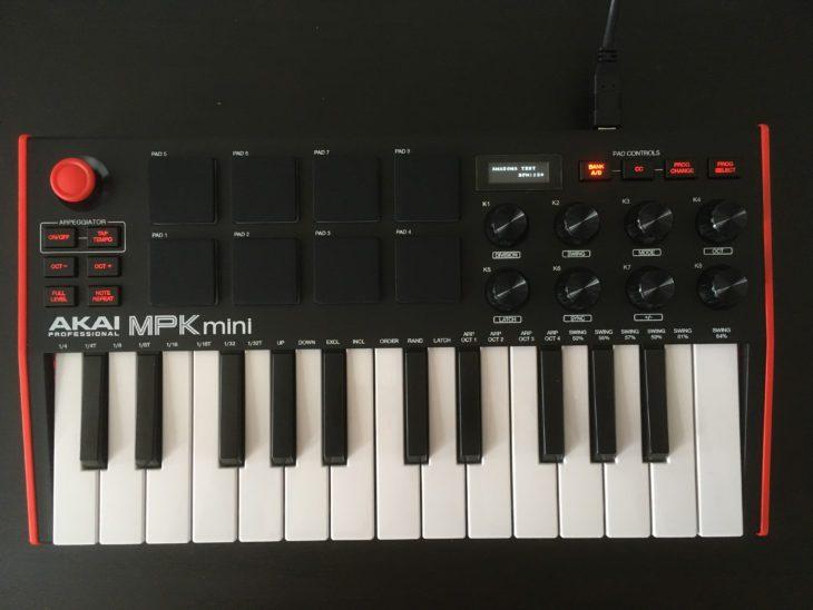 akai mpk mini mk3 test