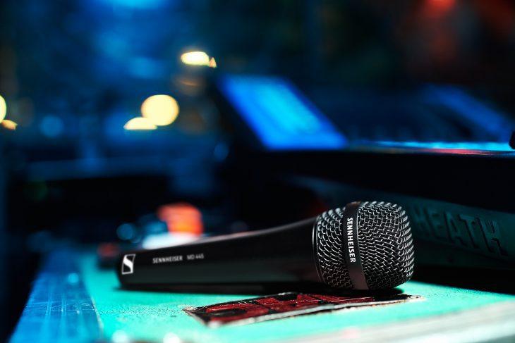 Sennheiser MD 445 Gesangsmikrofon