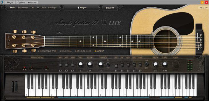 amplesound guitar m lite