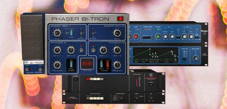 arturia Chorus DIMENSION-D, phaser bitron, flanger bl 20