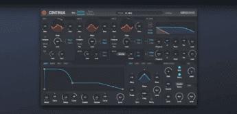 Audio Damage Continua – virtual-analoger MPE-Synthie, Mac, Win, iOS