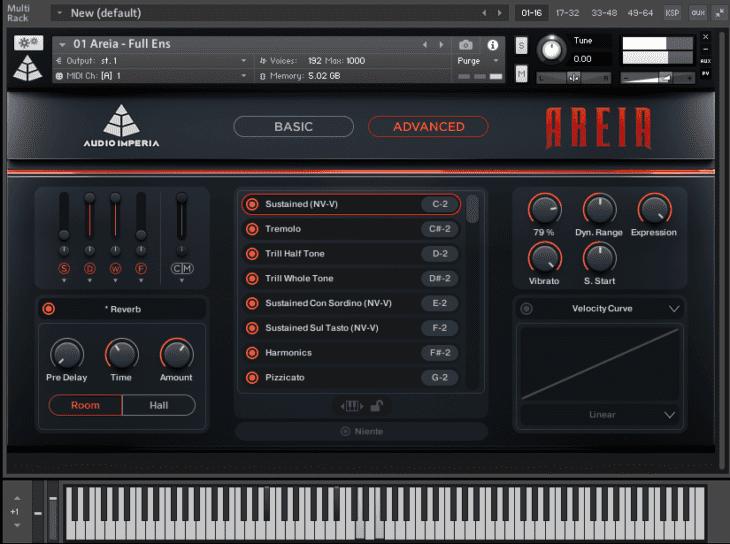 Audio Imperia - Areia Advanced