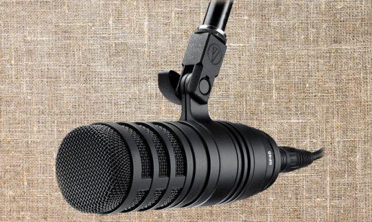 Test: Audio Technica BP40, Broadcast-Studiomikrofon