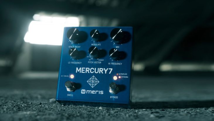 Audiovergleich Stereo Reverb Pedale Mercury 7