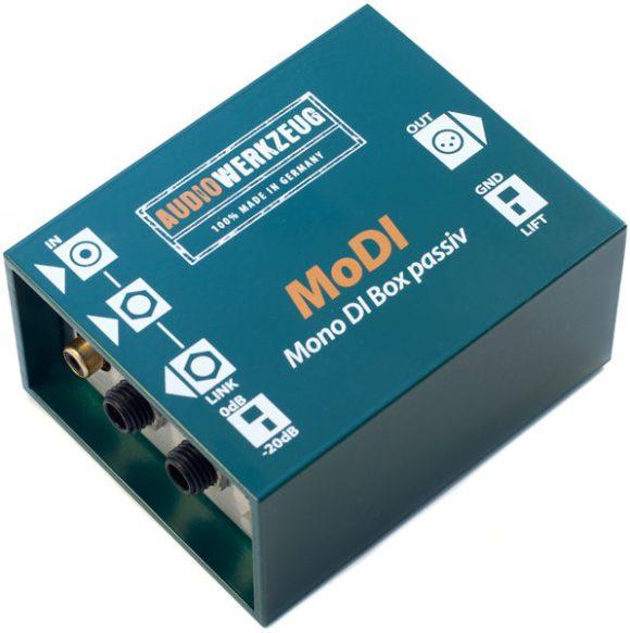 test audiowerkzeug modi