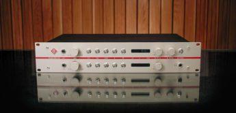 Test: Neumann V 402, 2-Kanal Mikrofonvorverstärker