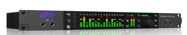avid pro tools mtrx studio 2