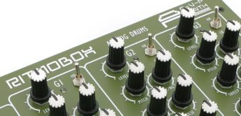 AVP Synth Ritmobox – analoger Drum-Synthesizer mit Mini-Sequencer