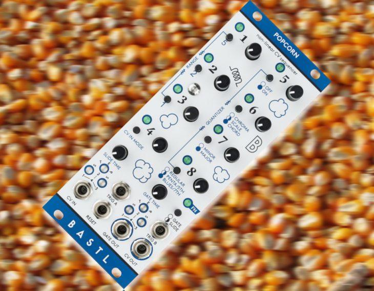 bastl instruments popcorn eurorack step sequencer