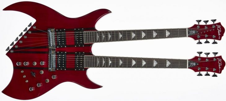 BC Rich Rich B Legacy Double Neck Test
