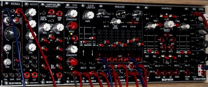 Befaco Muxlicer Logic Eurorackmodul Userbild Gepatcht