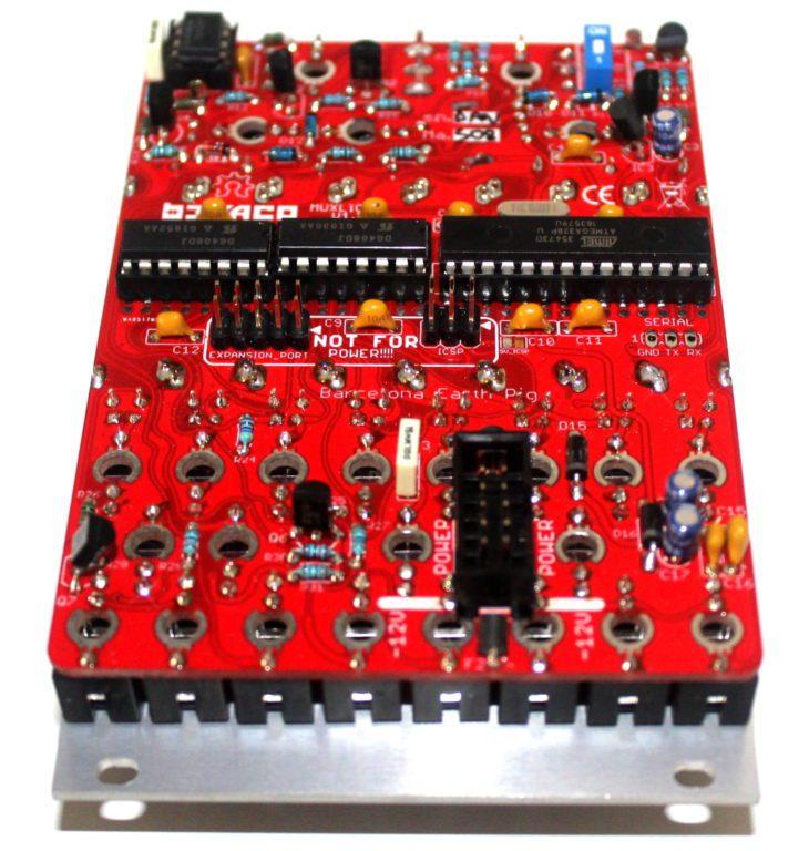 Befaco Muxlicer Logic Eurorackmodul Userbild Rückseite