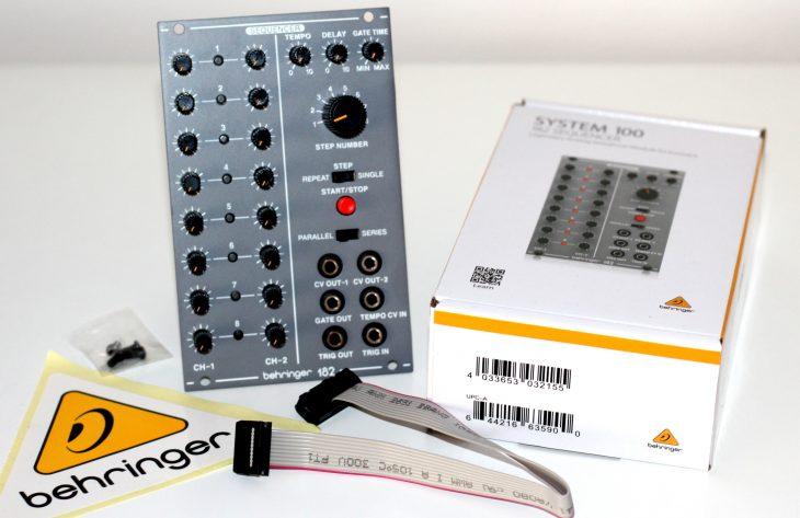 Test: Behringer System 100, Sequencer 182, Eurorack