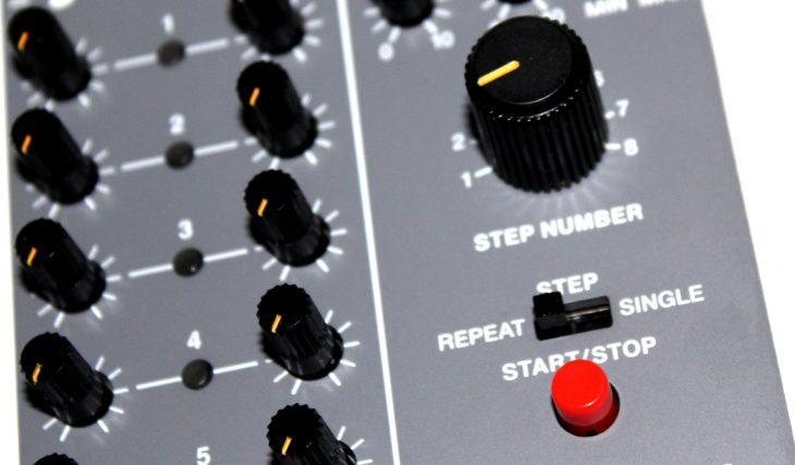 Behringer 182 Sequencer Userbild Lieblingstaster PLAY