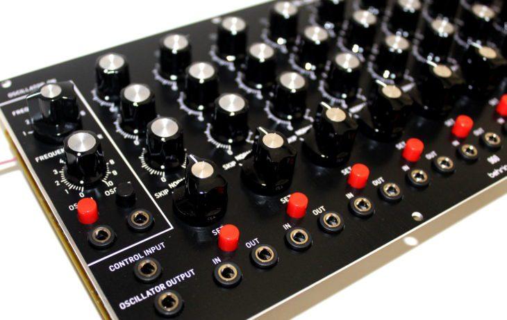 Behringer 960 Sequential Controller Userbild Rechte Seite Details