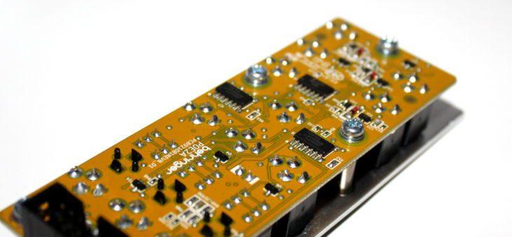 Behringer 962 Sequential Switch Userbild Rückseite ICs