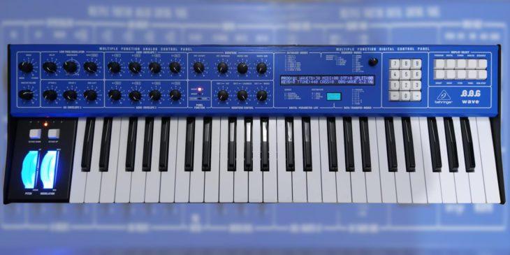 behringer bbg wave synthesizer