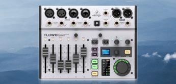 Neues digitales Mischpult von Behringer: Flow8