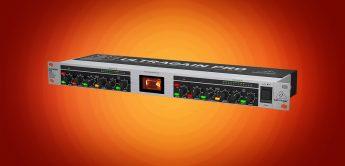 Test: Behringer Ultragain Pro Mic 2200 V2, 2-Kanal Mikrofonvorverstärker