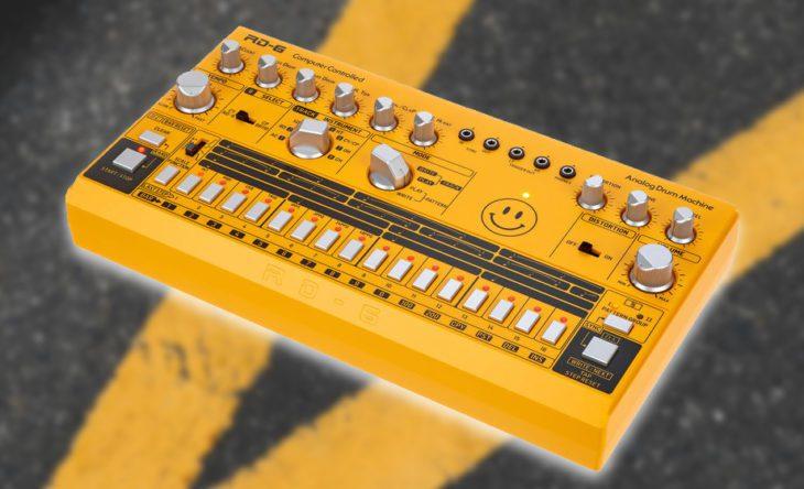 behringer rd-6 drum machine test