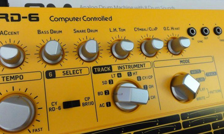 Behringer RD-6 Analog Drum Machine 2
