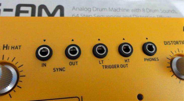RD-6 Analog Drum Machine sync trigger