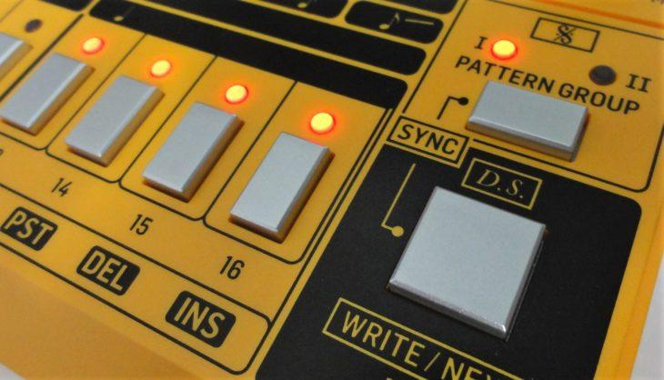 RD-6 Analog Drum Machine tap