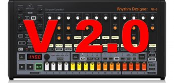 Behringer RD-8 – Drum Machine bekommt Firmware V 2.0