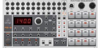 Behringer RS-9 Rhythm Sequencer, der Entwurf eines Euroracks?