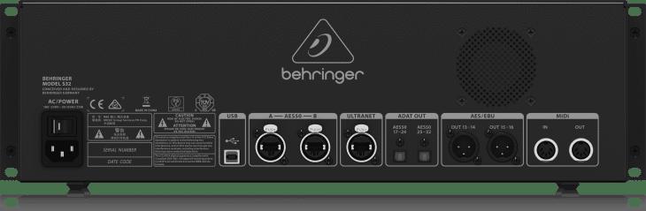Test: Behringer S32 Digitale Stagebox für AES50 Test: Behringer S32 Digitale Stagebox für AES50 Test: Behringer S32 Digitale Stagebox für AES50